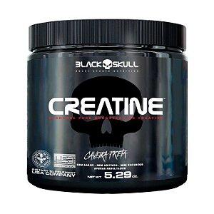 Creatine - 300g - Caveira Preta Black Skull