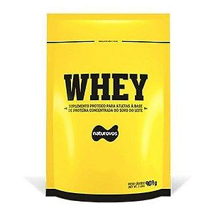 Whey Protein Concentrado 80% (907g) - Naturovos