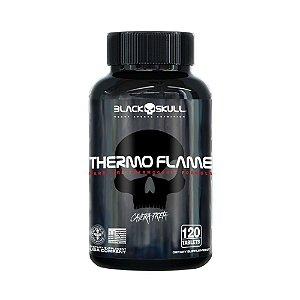 Thermo Flame Caveira Preta - 120tabs - Black Skull