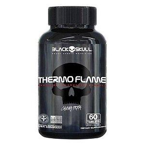 Thermo Flame Caveira Preta - 60tabs - Black Skull
