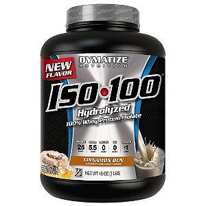 ISO 100 Whey (3 lbs) - Dymatize Sabor Canela (VAL 03/18)