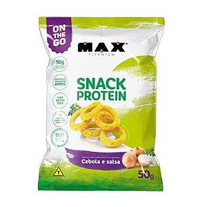 Snack Protein Cebola e Salsa (50g) Max Titanium