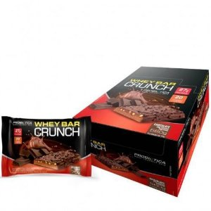 Whey Bar Crunch 8 Barras (70g) Probiótica