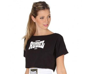Blusa Cropped Preto - Rudel