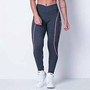 Calça Legging Fitness Breeze Lead - Labellamafia
