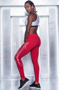 Calça Legging Pro Athlete Red - Labellamafia