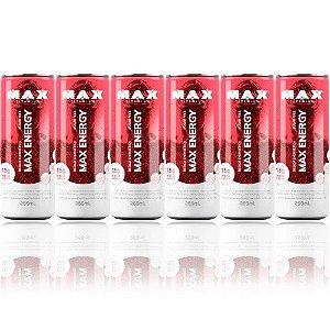 Fardo com 6 energéticos Max Energy (269ml) - Max Titanium