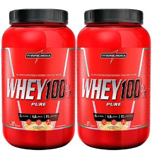 Kit 2x Whey 100% Pure (907g) - Integralmédica