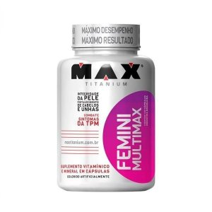 Multimax Femme - 60 Cápsulas - Max Titanium