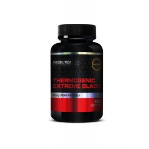 Thermogenic Extreme Black (120 cáps) - Probiótica