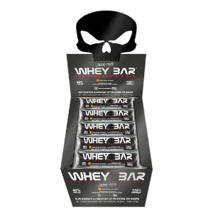 Whey Bar (Cx c/ 24 Unidades de 30g) - Black Skull