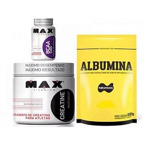 Combo Suplementos Custo Benefício - Max Naturovos