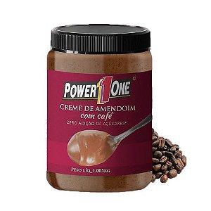 Creme de Amendoim com Café 1,005kg Power One