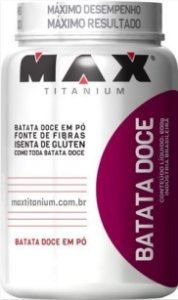 Batata Doce em pó (600g) - Max Titanium
