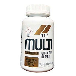 Multi Vitamínico Mineral Health Labs A-z - 90 Tabletes