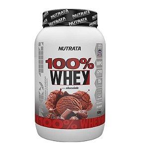 100% Whey - 900g - Nutrata