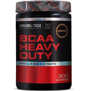 BCAA Heavy Duty 2400mg 300 Tabs - Probiótica