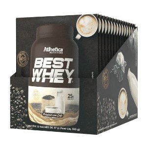 Best Whey - 15 Sachês - Atlhetica Nutrition