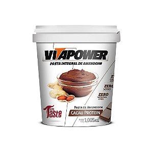 Pasta Integral Cacau Protein 1kg - VitaPower