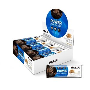 Power Protein Bar Display Com 8 Unid. De 90G Max Titanium