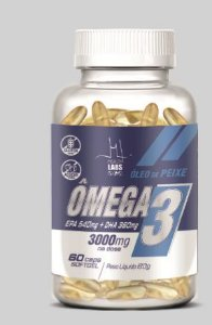 OMEGA 3 dose 3000 mg (60 capsulas) - Health Labs