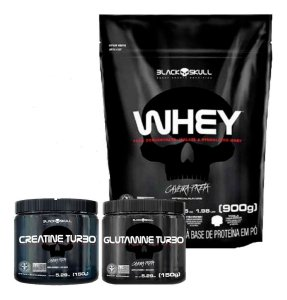 Kit Whey Black Skull - Black Skull