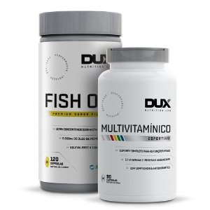 Combo Fish Oil Omega 3 + Multivitaminico - Dux Nutrition