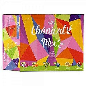 Cha Chanical Tea Fit Seca barriga - Novo Chánical Mix. Caixa com 90 sachês (6 sabores)