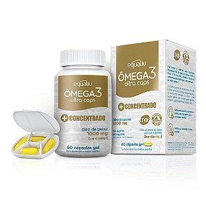 Omega 3 Ultra Concentrado (60 Cápsulas) - Equaliv
