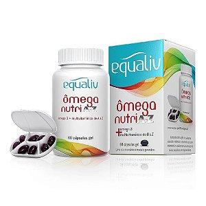 Omega Nutri A-Z - 60 Cápsulas - Equaliv