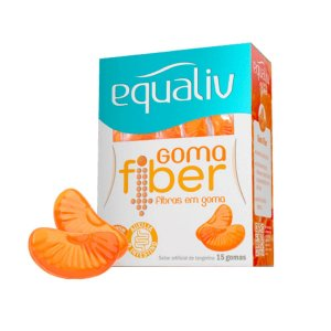 Goma Fiber Fibras Prebióticas - 15 Unidades - Equaliv
