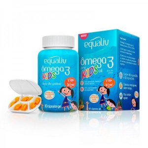 Omega 3 Kids (60 Cápsulas) - Equaliv