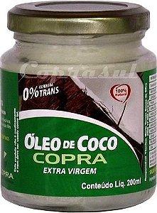 Óleo de Coco Extra Virgem (200ml) - Copra