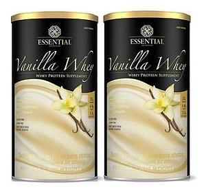 Kit 2x Vanilla Whey - 450g - Whey Protein Hidrolisado