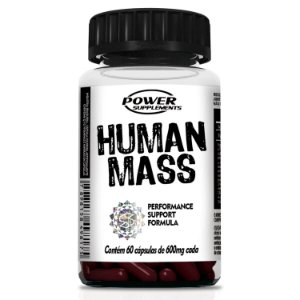 Human Mass - 60 Cápsulas - Power Supplements