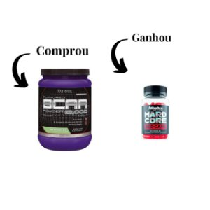 BCAA (228g) - Ultimate Nutrition Grátis Termogenico Hardcore RED CAPS