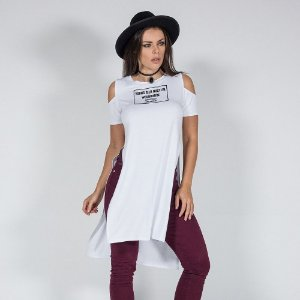BLUSA LONG MBL10110 - P - LABELLAMAFIA
