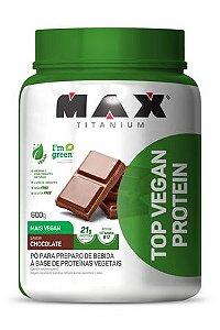 Top Vegan Protein 600g ZERO LACTOSE - Max Titanium