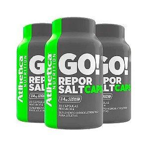 Kit 3x Hidroeletrolítico Repor Salt (30caps) - Atlhetica