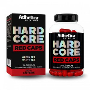 Hardcore Red Caps - 120 Cápsulas - Atlhetica Nutrition