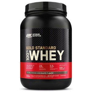 Whey Protein 100% Gold Standard - 909g (2lbs) - Optimum Nutrition