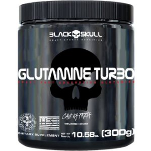 Glutamina Turbo (300g) - Black Skull