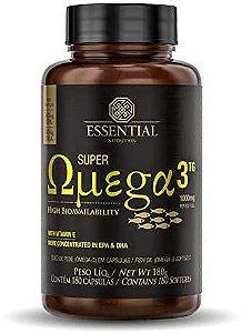 Super Ômega 3 Tg - 180 Cápsulas de 1g - Essential Nutrition