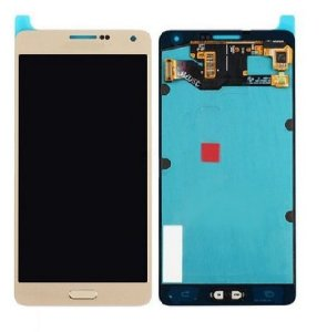 TELA DISPLAY LCD TOUCH SCREEN SAMSUNG A 7 / A 700 NA COR DOURADO