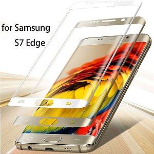 Película De Vidro Temperado Celular Galaxy S7 Edge Curva Glass