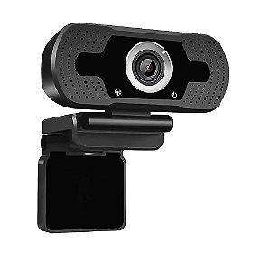 Webcam Full Hd 1080p Com Microfone, Ângulo Amplo Usb 2.0
