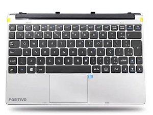 Teclado Tablet compatível com Positivo Duo Zx3060 Zx3040