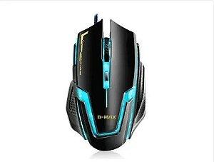 Mouse Gamer A9 B-max 6 Botões Jogos 3200 Dpi