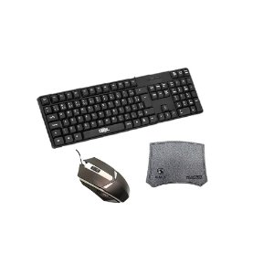Kit Teclado Mousepad Mouse gamer