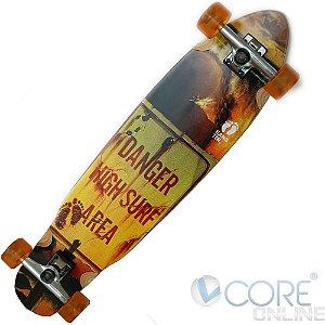 Skate Longboard 40 Abec7 Truck 160 Invert Rodas 70mm78a